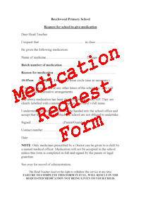 Medication Form Button