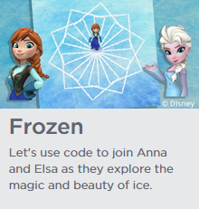 Hour of code - Frozen