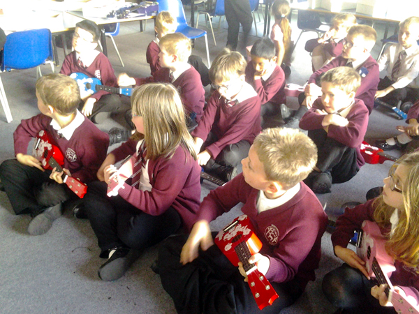 Learning To Play The Ukelele