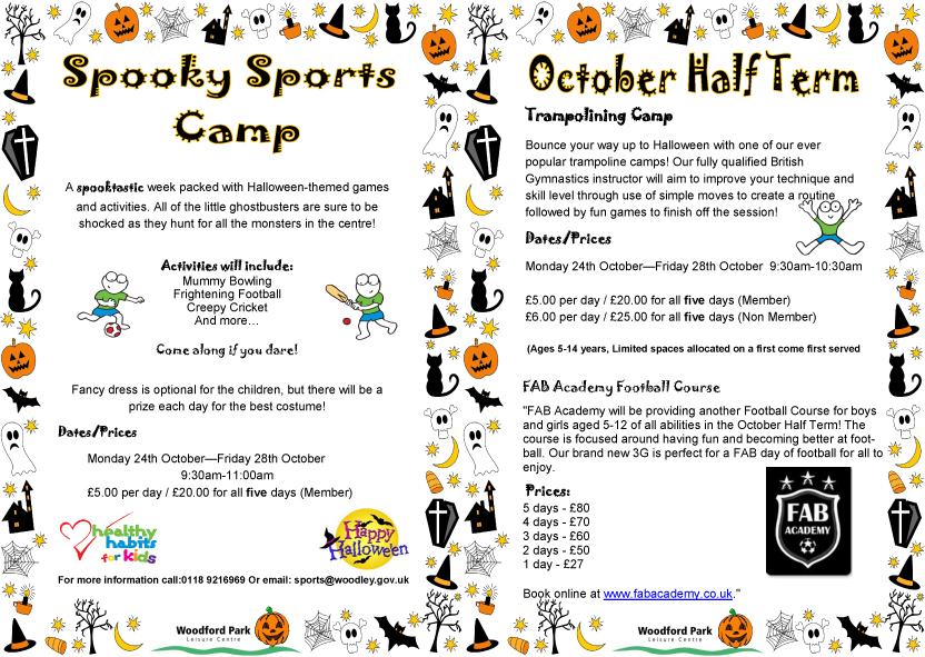 woodford-park-october-half-term-activities